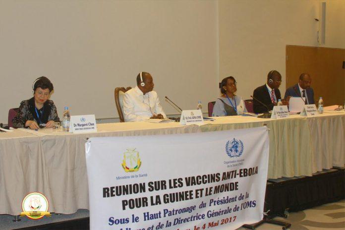 Vaccin anti Ebola Alpha Conde