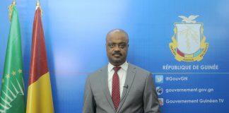 Damantang Albert Camara ministre Guinéen du travail