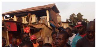Bandit arrêté à Kamsar Guinée