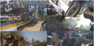 Accident de circulation à Dubreka Guinée