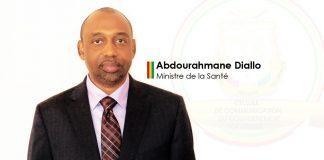 Abdourahmane Diallo ministre de la santé
