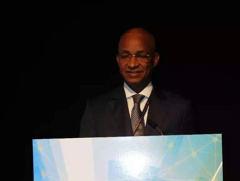 Cellou Dalein Diallo à l'internationale libérale