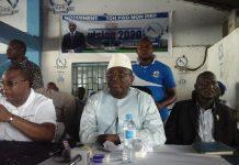 Sidya Touré a l'AG de l'ufr