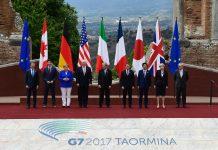 Sommet du G7 en Sicile Italie 27 mai 2017