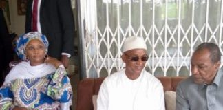 Halimatou Dalein Diallo, Cellou Dalein et Alpha Conde à Dixinn domicile de Dalein