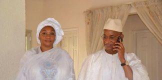 Halimatou Dalein Diallo et Cellou Dalein Diallo