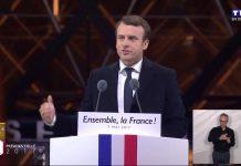Emmanuel Macron President de la France