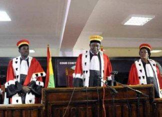 Cour-constitutionnelle Guinée