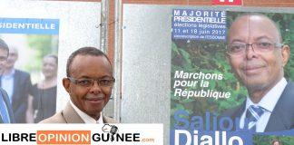 Logo Saliou Diallo ancien vice-maire d'Evry Candidat au poste de député