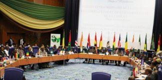Sommet de la cedeao à Monrovia
