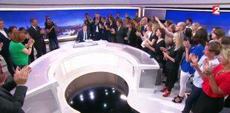 Les adieux émouvants de David Pujadas au 20h de France 2