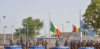 Dépouilles des soldats Guinéens tuées à kidal Mali
