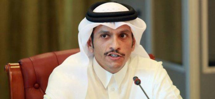 Photo: Le ministre qatari des Affaires étrangères, Mohammed ben Abderrahmane Al Thani