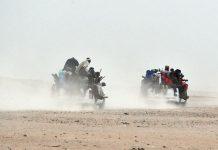 Migrants dans le désert nigérien et du Sahara