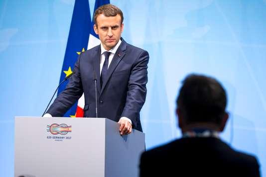 Emmanuel Macron au sommet du G20