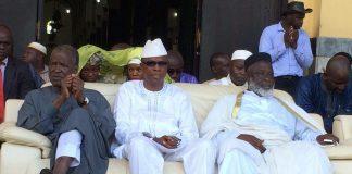 Siaka Barry et L'imam Elhadj Mamadou Saliou Camara