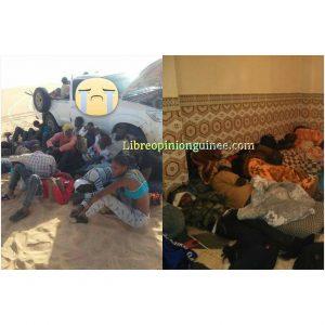 Immigration clandestine sur le désert libyen