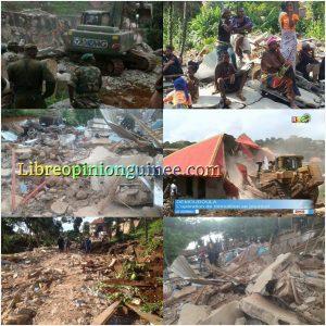 Démolition des maisons à Demoudoula