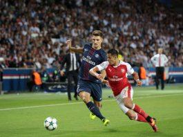 Alexis Sanchez, ici sous le maillot d'Arsenal