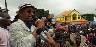 Meeting de l'opposition Guinéenne à Nongo