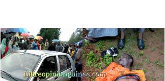 Un chauffeur de Taxi tué à Pita