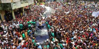 Meeting de l'opposition Guinéenne à Dubreka Kagbelén