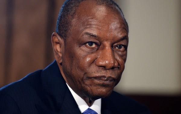 Alpha Condé président de la république de Guinée