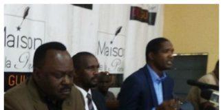 Opposition Guinéenne FAD Front pour l'alternance démocratique, Mouctar Diallo NFD, Aboubacar Sylla de l'UFC et Jean Mark Teliano