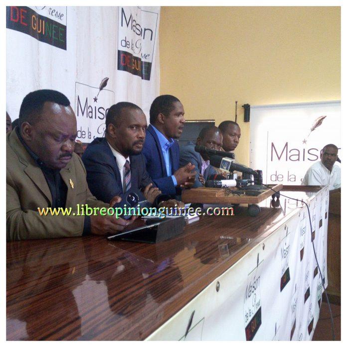 Opposition Guinéenne, FAD Front pour l'alternance démocratique, NFD, UFC et RDIG