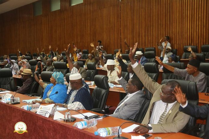 Député Guinéenne à l'Assemblée nationale