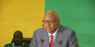Me Cheick Sacko, ministre de la justice de Guinée