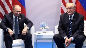 Vladimir Poutine et Donald Trump à Hambourg