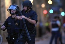 Attentat à Barcelone Espagne Force de police