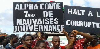 Manifestation de l'opposition Guinéenne le 02 août 2017 à Conakry