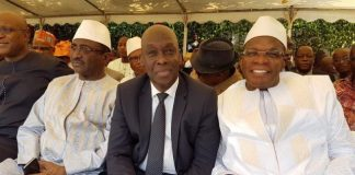 Sidya Touré, Mohamed Diané et Kassory