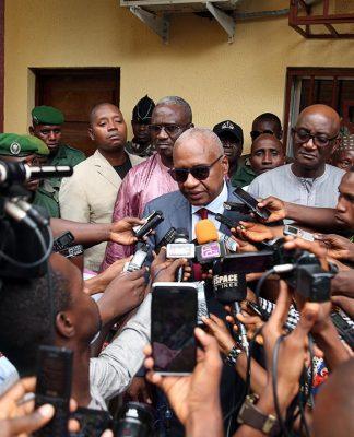 Me Cheick Sacko ministre de la justice de Guinée