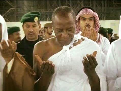 Alpha Conde en Arabie Saoudite