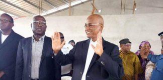 Cellou Dalein Diallo avec kalemodou Yansane et Cherif Bah