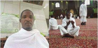 Mouctar Diallo des NFD à la Mecque pour le pèlerinage