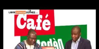 Faya Millimono sur Gangan TV Café débat