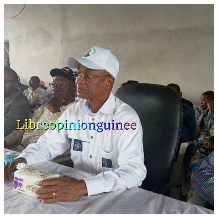 Cellou Dalein Diallo President de l'ufdg au siège de son parti