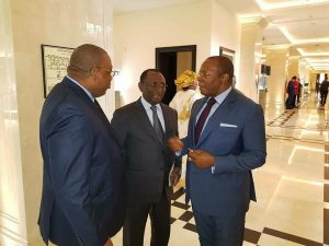 Kassory Fofana, Sidya Touré et Baidy Aribot à Moscou