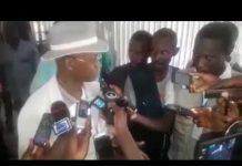 Cellou Dalein Diallo après la marche du 20 septembre 2017