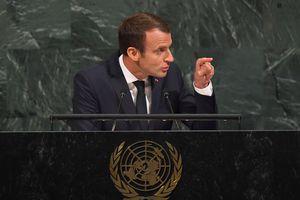 le-président-français-Emmanuel-macron-a-l-ONU-a-new-york-le-19-septembre 2017
