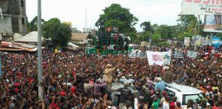 Manifestations de l'opposition Guinéenne