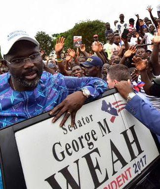 Élection présidentielle au Libéria Georges Weah