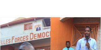Macka Baldé vice President des NFD est Mouctar Diallo President des NFD