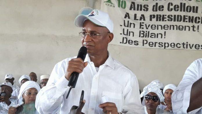 Cellou Dalein Diallo leader de l'UFDG Guinée