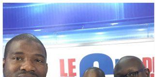 Macka Balde, Aboubacar Diallo et Mohamed Mara