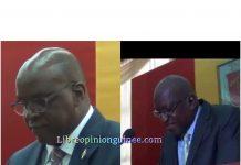 Fode Oussou Fofana et Ibrahima Kalil Konaté K au carré au parlement guinéen